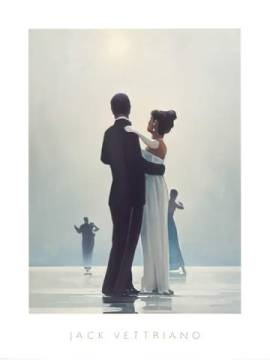 Dance Me To The End Of Love of artist Jack Vettriano, End, Love, Dance