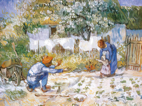 First Steps of artist Vincent van Gogh, Kid, Who, Kids, Sire, Kiddy, Which, Gaits, Folks