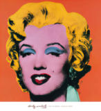 Shot - Orange Marilyn of Andy Warhol