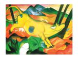 Franz Marc - Yellow Cow