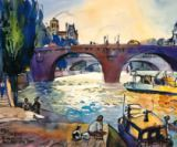 Michael Leu - Evening by the Seine
