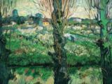 Vincent van Gogh - View at Arles, 1889 (fixed sizes)