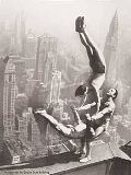 Bettmann / Corbis Archive - Acrobats on the Empire State Building