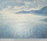Theodore van Rysselberghe - A Coastal Scene, about 1892