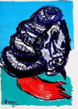 Karel Appel - 129 (One Cent Life)