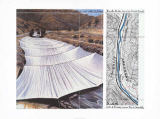 Christo und Jeanne-Claude - Over the River V Above