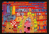 Friedensreich Hundertwasser - Rebellion of the grid
