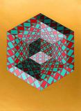 Victor Vasarely - Bi-Sanction
