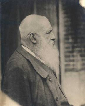 Claude Monet (1841-1926) early 20th century of artist French Photographer, Old, 20th, Half, Male, Arts, Beard, World, Monet