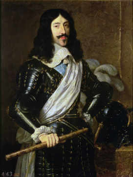 Louis XIII (1601-43) of artist Philippe de Champaigne, Male, France, Rulers, Armour, Royalty, Portrait, Personalities