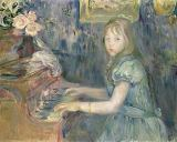 Berthe Morisot - Lucie Leon at the Piano, 1892