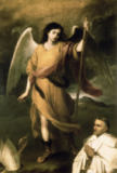Bartholomé Estéban Murillo - Archangel Raphael with Bishop Domonte
