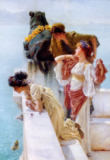 Sir Lawrence Alma-Tadema - A Coign of Vantage, 1895
