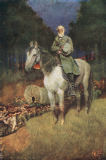 Howard Pyle - General Lee on his Famous Charger, 'Traveller', illustration from 'General Lee as I Knew Him' by A.R.H. Ranson, pub. in Harper's