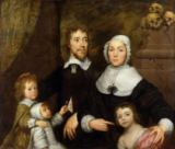 William Charles Thomas Dobson - Portrait of a Family, Probably that of Richard Streatfeild, c.1645