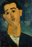 Amedeo Modigliani - Portrait of Juan Gris (1887-1927) 1915