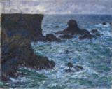 Claude Monet - Rocks at Port Coton, the Lion Rock, 1886