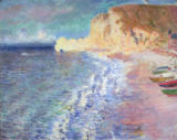 Claude Monet - Morning at Etretat, 1883