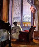 Henri Lebasque - Woman Writing