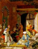 John Frederick Lewis - 'And the Prayer of Faith Shall Save the Sick', from James 5:15