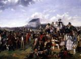 William Powell Frith - Derby Day  (detail of 56103)