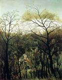 Henri J.F. Rousseau - Rendez-Vous in the Forest, 1886