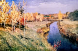 Isaak Ilyich Levitan - Golden Autumn, 1895