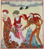 Georges Barbier - Love, Desire and Death
