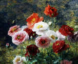 Louis Marie Lemaire - Cluster of Poppies, 1884