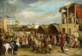 Charles Turner - An Extensive View of the Oxford Races