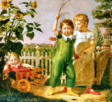 Philipp Otto Runge - The Hulsenbeck Children, 1806