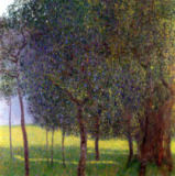 Gustav Klimt - Fruit Trees, 1901