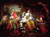 Pierre Mignard - The Grand Dauphin with his Wife and Children, 1687