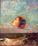 Odilon Redon - Homage to Goya, c.1895