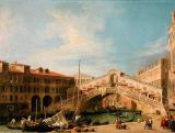 Giovanni Antonio Canaletto - View of the Rialto at Venice