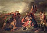 Benjamin West - The Death of General Wolfe (1727-59), c.1771