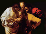 Michelangelo Merisi Caravaggio - The Incredulity of St. Thomas, 1602-03