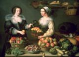 Louise Moillon - The Fruit and Vegetable Seller
