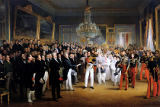François-Joseph Heim - The Chamber of Deputies at the Palais Royal Summoning the Duke of Orleans, 7th August 1830