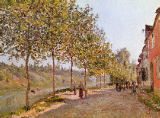 Alfred Sisley - June Morning in Saint-Mammes, 1884