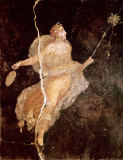 Römisch - Maenad, from the House of the Ship, Pompeii, 1st century BC-79 AD