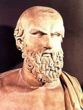 Greek School - Bust of Aeschylus (c.525-c.456 BC)