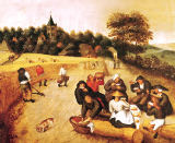 Pieter Brueghel der Jüngere - The Harvester's Meal