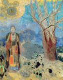 Odilon Redon - The Buddha, c.1905