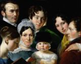 Claude-Marie Dubufe - The Dubufe Family in 1820