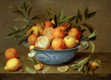 Jacob van Hulsdonck - Still Life with Oranges and Lemons in a Wan-Li Porcelain Dish