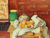 Paul Cézanne - Still Life with a Chest of Drawers, 1883-87