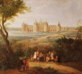 Pierre-Denis Martin - The Chateau de Chambord, 1722
