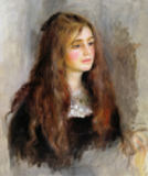 Pierre Auguste Renoir - Portrait of Julie Manet (1878-1966) 1894