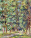 Pierre Auguste Renoir - Path in a Wood, 1910